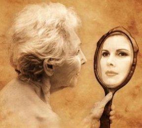 botox278 velha no espelho