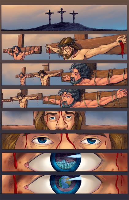 jesus cristo cruz do calvário foi por nÓs maluco por jesus